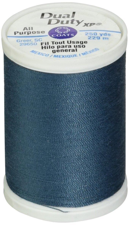 デュアル デューティ XP 汎用スレッド 250 ヤード光ティール ブルー   B001GJHFJS