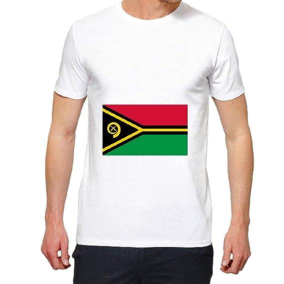 8b830795043e5 access-mobile-ile-de-re.fr T-Shirt - Manche Courte - Drapeau Vanuatu ...