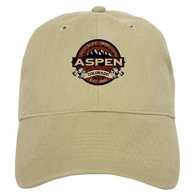 debde96c40b Amazon.com  CafePress - Aspen Vibrant Cap - Baseball Cap with Adjustable  Closure