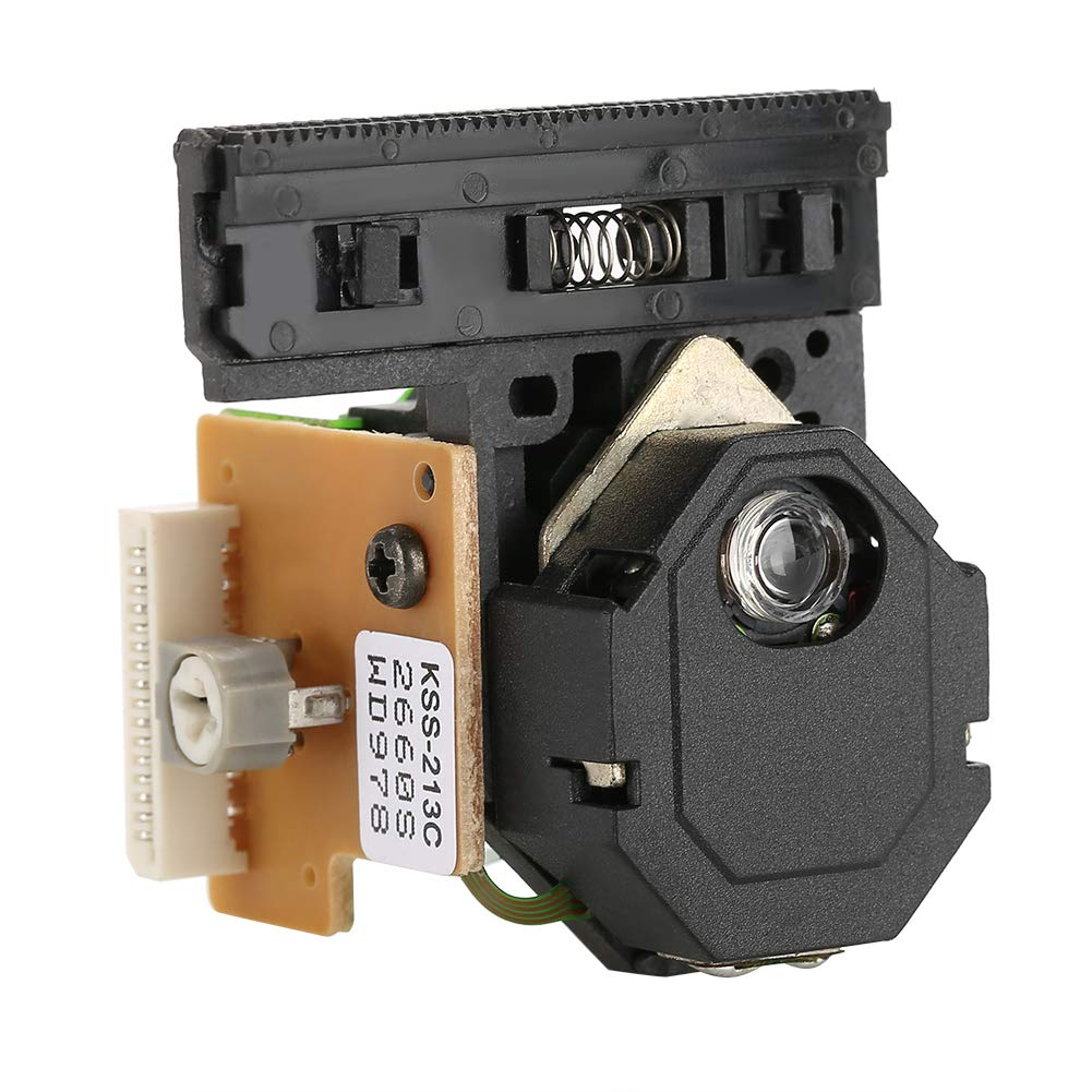 Optical Pick-Up Laser Lens Mechanism, Walfront KSS-213C Optical Pick-Up Laser Lens Mechanism Optical Drive Replacement Parts Compatible For CD/VCD