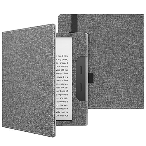 MoKo Case for All-New Kindle Oasis (9th Generation, 2017 Release ONLY) - Premium Smart Cover Slim Fit Protective Case with Auto Wake / Sleep for Amazon 7