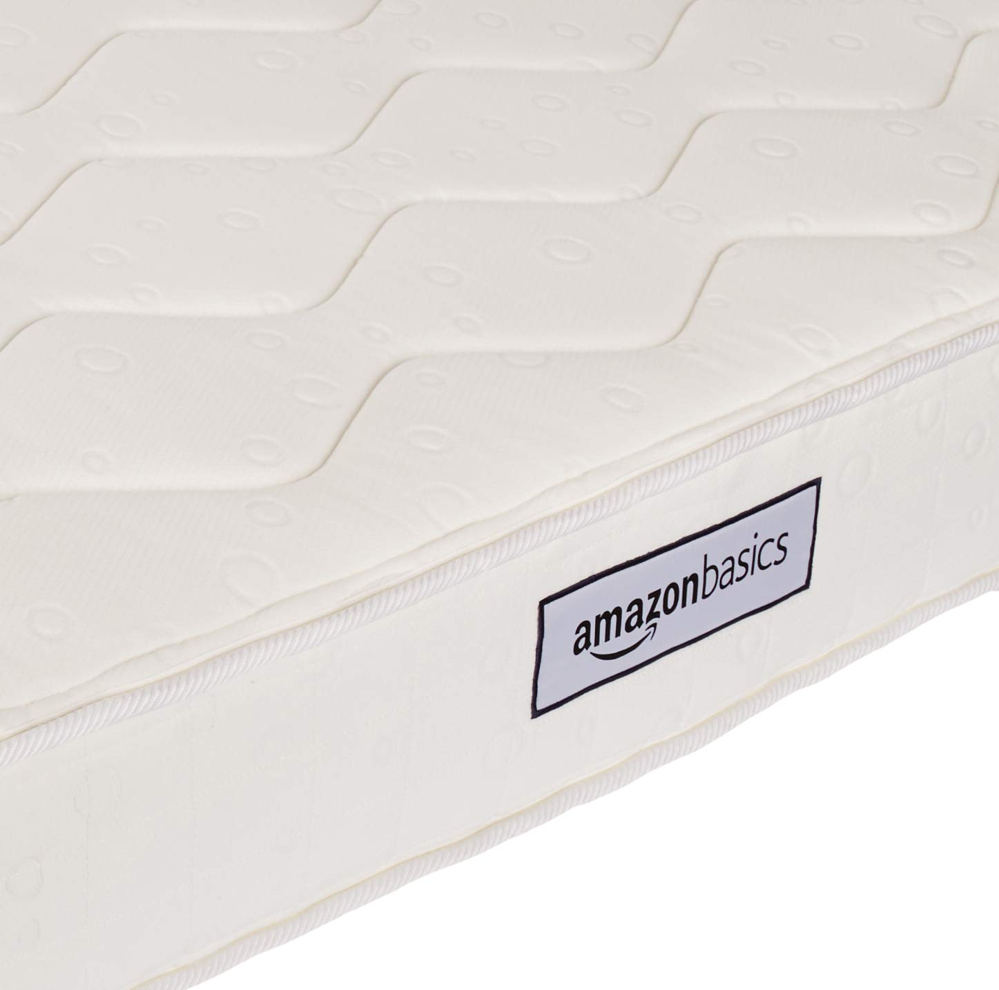 AmazonBasics Coil Mattress in a Box - Features Individual Pocket Spring for Motion Isolation, High-Density CertiPUR-US Certified Foam Layer - 8-Inch, Queen by AmazonBasics (Image #6)
