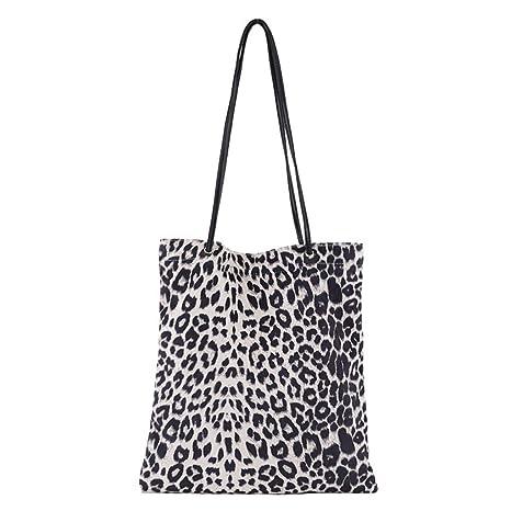 d485b6fdb37 Dabixx Women Shoulder Bag, Women Leopard Print Handbag Shoulder ...