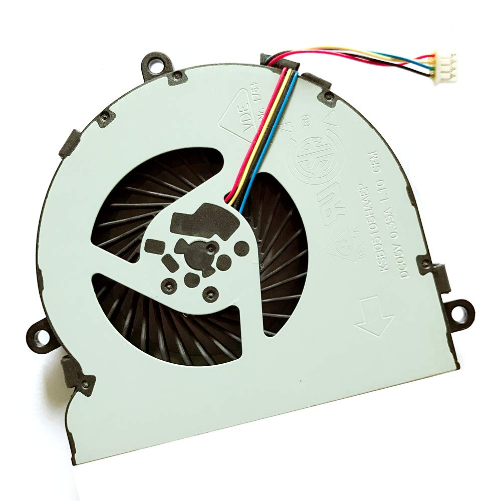 Replacement Compatible Laptop CPU Cooling Fan Cooler for HP Pavilion 15-ay055nc 15-ay052nr 15-ay054nk 15-ay053nb DC28000GAFO FCC2 0A 000 075C SPS-925012-001 DC28000GAR0 7J16B0