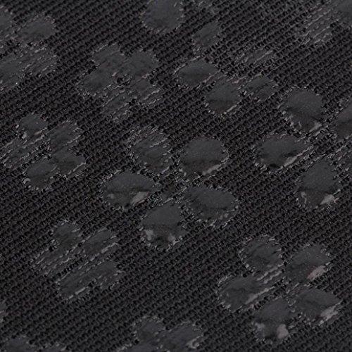 1 Par De Antepié Invisible Zapatos De Tacón Alto Antideslizantes Medio Parches Negro