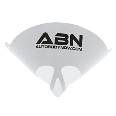 ABN Strainer Cone Funnel with Filter Top 25-Pack – Disposable 190 Micron Fine Nylon Mesh –Paint, Automotive, More: Automotive