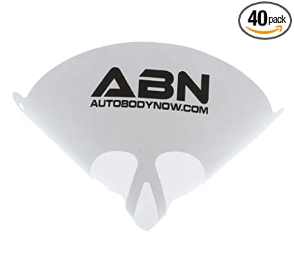 amazon com abn strainer cone funnel with filter top 40 pack