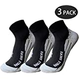Low Cut Running Compression Athletic Socks For Men & Women - Sport Ankle Socks 15-20mmHg