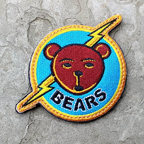 Bad News Bears And Chicos Bail Bonds 100  Embroidered Morale Patch  Velcro Morale Patch By Neo Tactical Gear  Bears Patch