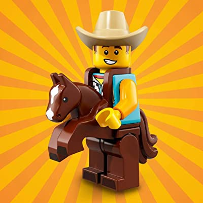 LEGO Series 18 Collectible Party Minifigure - Cowboy Costume Guy (71021): Toys & Games
