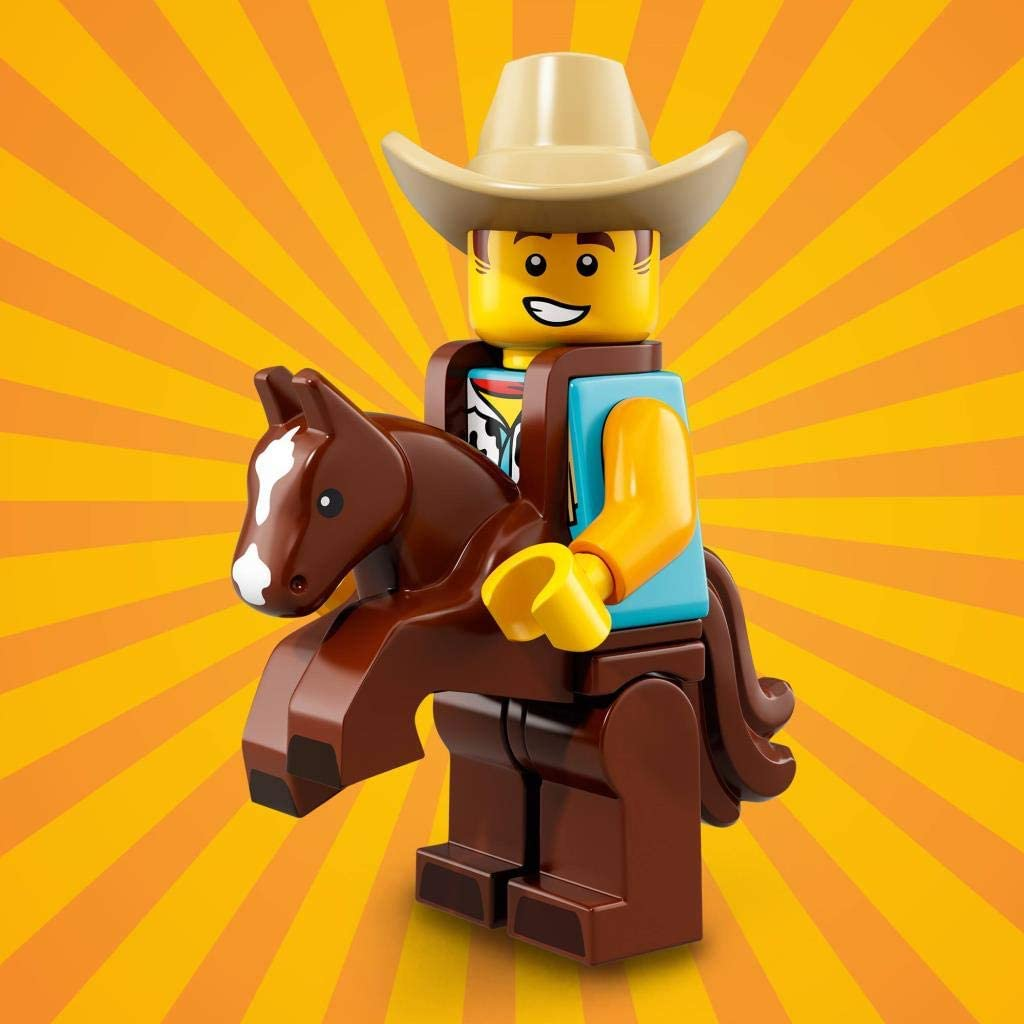 LEGO Minifigure Series 18 - Chico con disfraz de vaquero: Amazon ...
