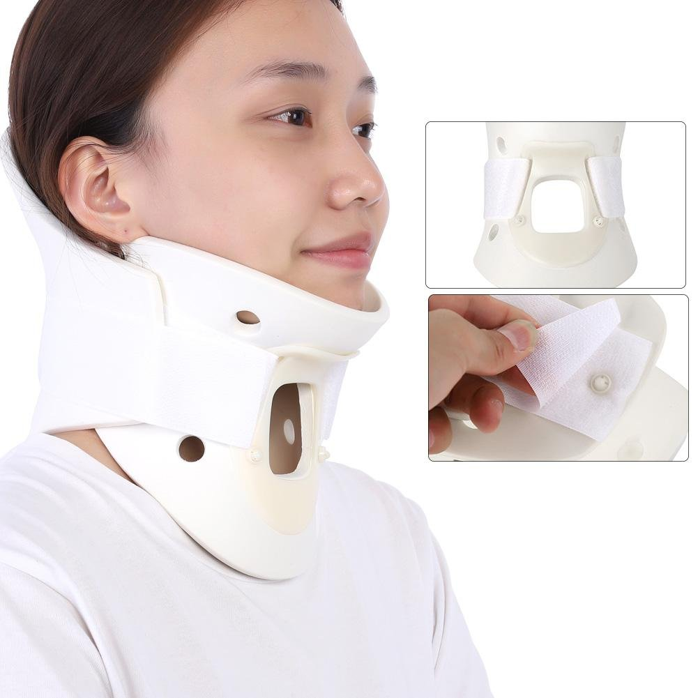 Breathable Neck Brace, Cervical Collar Neck Support Pain Relief Neck Orthosis Braces for Neck and Upper Back Relief Pain, Dizziness and Limb Numbness(L) by Semme