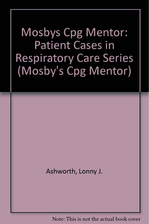 Mosbys Cpg Mentor 8 Units Respiratory