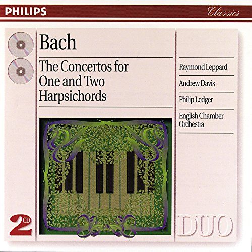 Bach, J.S.: The Concertos for One and Two Harpsichords