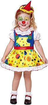 Adorable Disfraz Pierrot para niña / Colorido en Talla 99 - 104 cm ...