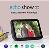 Echo Show 8 - Smart home display and touchscreen with Alexa - Charcoal