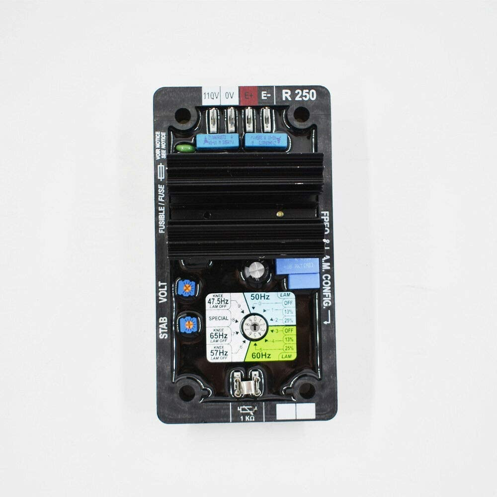 AVR R250 Automatic Voltage Regulator Controls Module Card for Leroy Somer