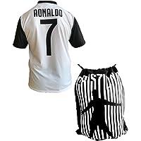 Maglia Juventus Cristiano Ronaldo 7 Replica Autorizzata 2018-2019 Bambino (Taglie-Anni 2 4 6 8 10 12) Adulto (S M L XL) + Omaggio Sacca Cristiano