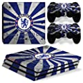 FriendlyTomato PS4 Pro Skin and DualShock 4 Skin - Soccer - PlayStation 4 Pro Vinyl Sticker for Console and Controller Skin