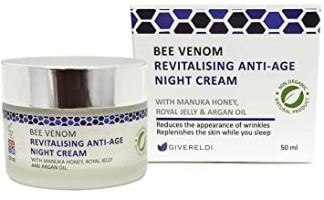 Bee Venom Revitalising Anti-Age Night Cream 50 ml – Natural & Organic anti-