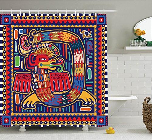 Ambesonne Decorations Collection Ornamental Mythology