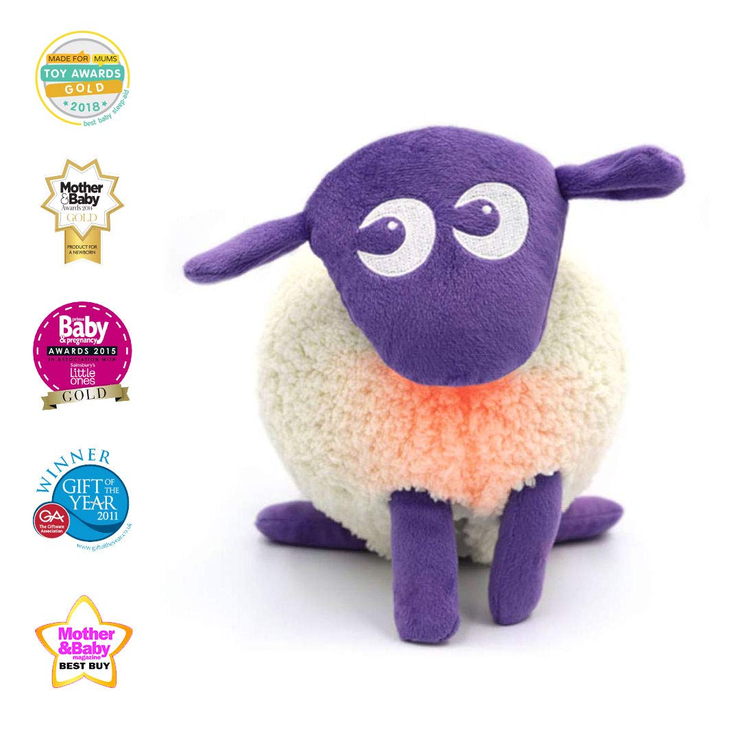 547d575a9 Sweet Dreamers, Ewan The Dream Sheep, Purple - Baby White/Pink Noise  Machine and Sleep Aid Toy with Night Light: Amazon.co.uk: Baby