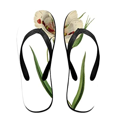 ece65ce9802df2 Jinqiaoguoji Customized Casual Tulip Flowers Womens Sandals Beach Sandals  Pool Party Slippers Flip Flops