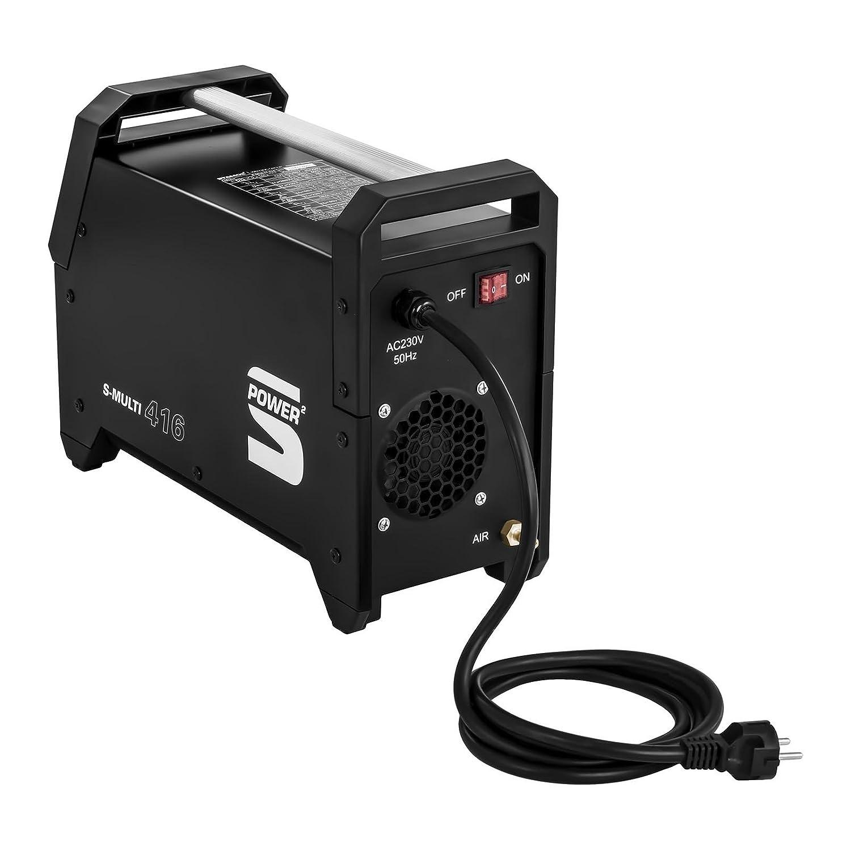Stamos Power - S-MULTI-416 - Máquina de soldar multiproceso - TIG, MMA y corte plasma - Envío Gratuito: Amazon.es: Hogar