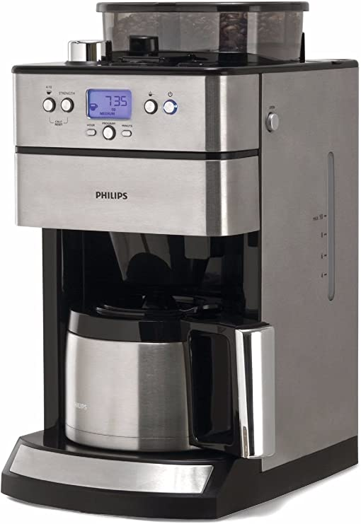 Philips HD7753/00 Grind and Brew - Cafetera por goteo con ...