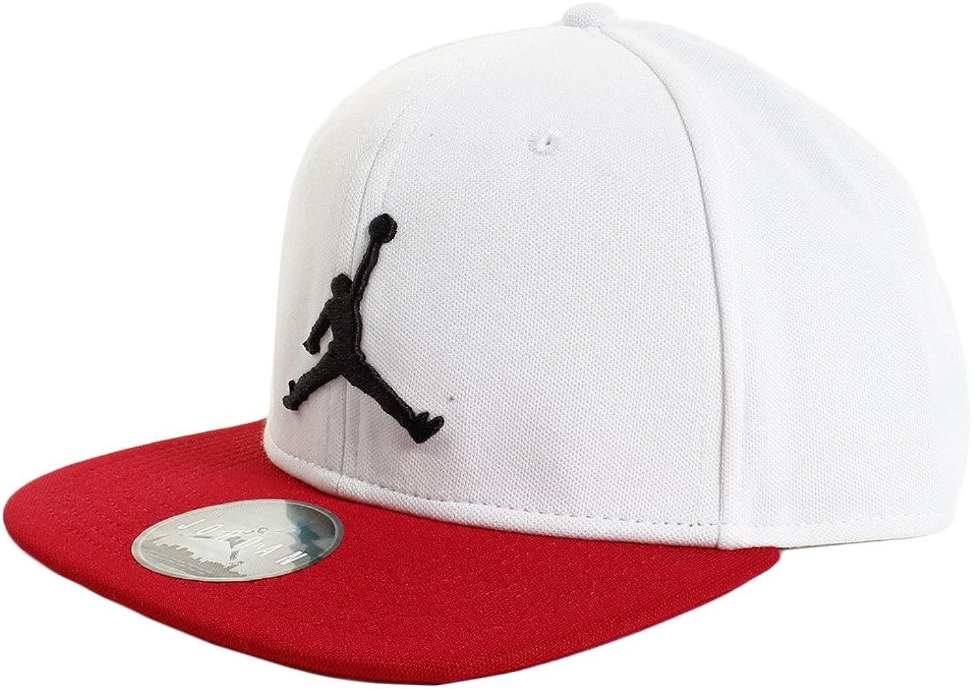 Jordan Gorra Jumpman Snapback blanco/rojo/negro talla: Ajustable ...