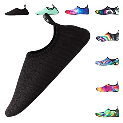 DoGeek Water Shoes Men Women Beach Shoes Quick-Dry Aqua Socks Slip-on Barefoot Shoes for Beach Sport Swim Surf Yoga Exercise | Water Shoes