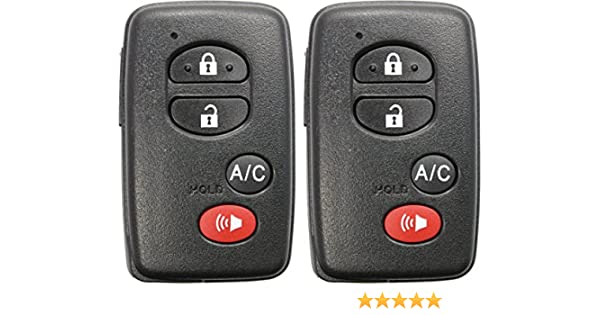 Amazon com: ReplaceMyRemote New 2010 2011 2012 2013 2014 2015 Toyota