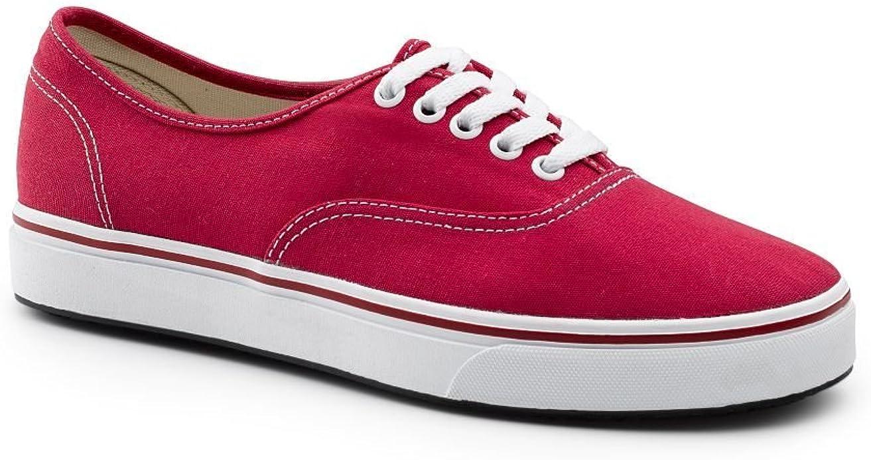 Adult Shock Red Athletic Slip Resistant