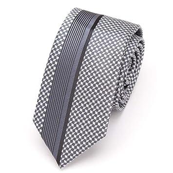 KYDCB Corbata para Hombre Corbata Delgada Corbata de la Raya para ...