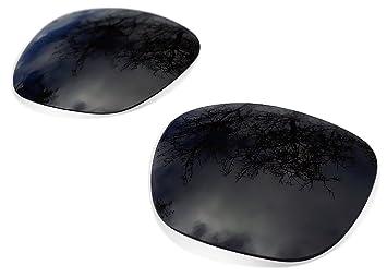 sunglasses restorer Lentes Polarizadas de Recambio Black Iridium para Oakley Garage Rock