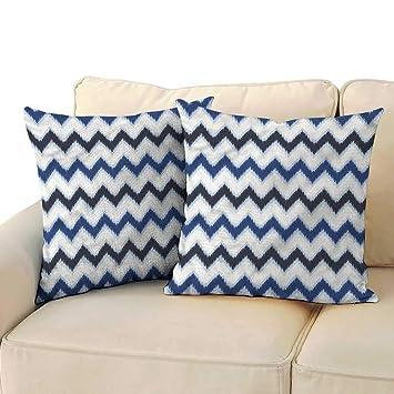 Amazon.com: Ediyuneth - Fundas de almohada estándar Chevron ...