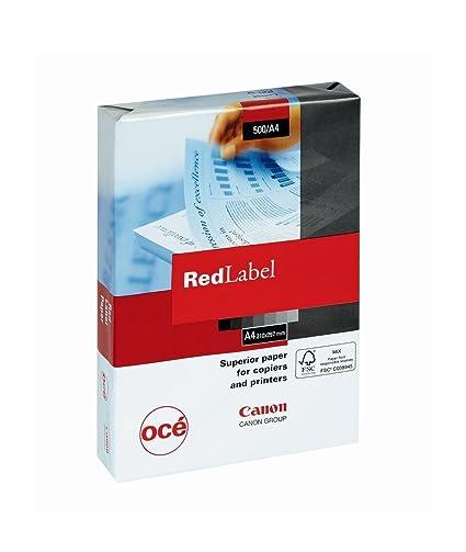 Canon Red Label - Paquete de papel para impresora y fotocopiadora ...