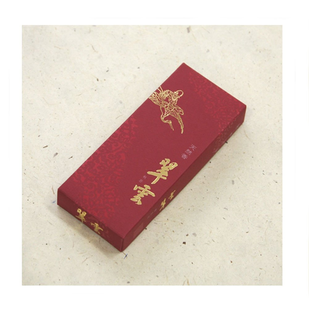 Temple Incense Chui Woon (Emerald Cloud) Oriental Incense Large 120 Stick Box by Korean Treasure
