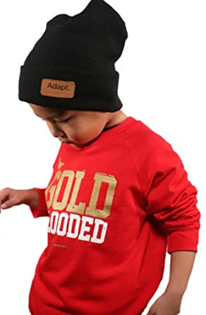 Amazon.com  Adapt Boys  Gold Blooded Crewneck  Clothing eeb7ce5f4d1