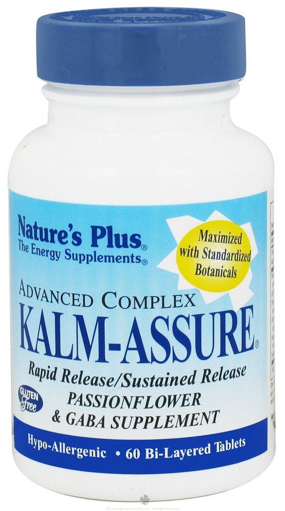 Nature's Plus Kalm-Assure Tab 60, 0.35 Pound