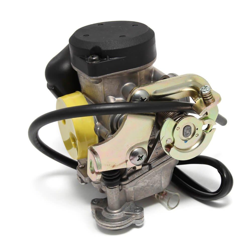 Genuine Buddy 125 Stock Carburetor W Adjustable Mix Keihin Diagram For Pinterest Automotive