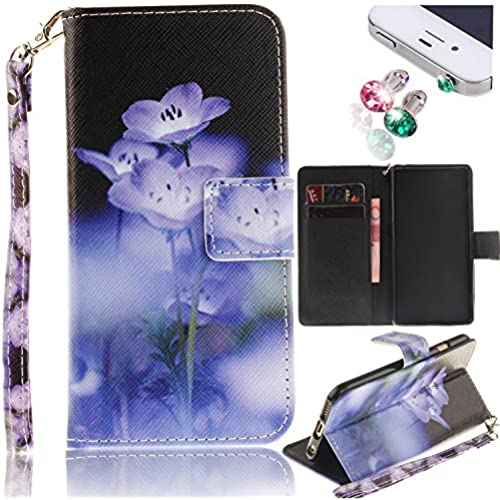 S7 Edge Case, Galaxy S7 Edge Case Pershoo [Colorfu Print][Anti-Scratch] Premium Wallet Case Flip Case with Cards Sales