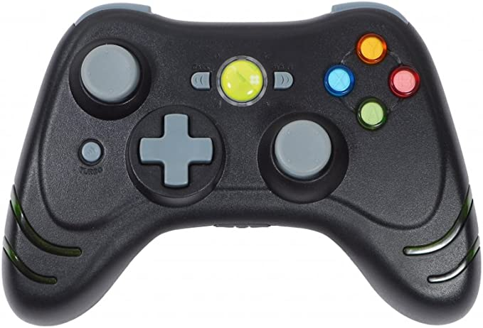 Datel Wildfire Wireless Controller - Black (Xbox 360) [Importación ...