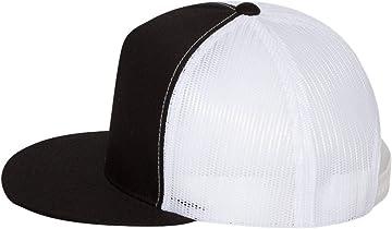 91e67f74303 Amazon.com  Richardson Black 112 Mesh Back Trucker Cap Snapback Hat ...