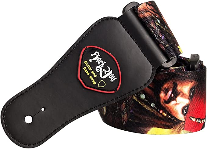 Correa de guitarra para hombro, con diseño de Jack Sparrow de la ...