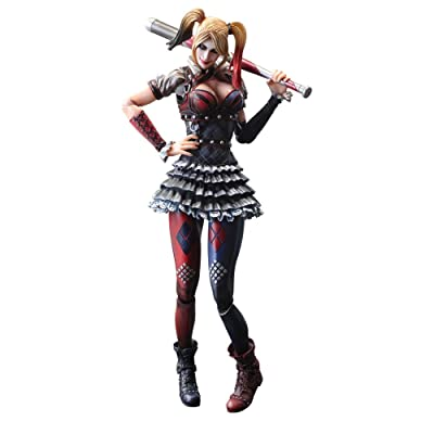 Square Enix Harley Quinn Batman Arkham Knight Play Arts Kai Action Figure: Toys & Games