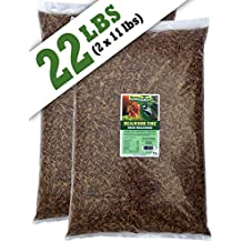 NaturesPeck Mealworm Time Dried Mealworms (22 lbs)Non-GMO