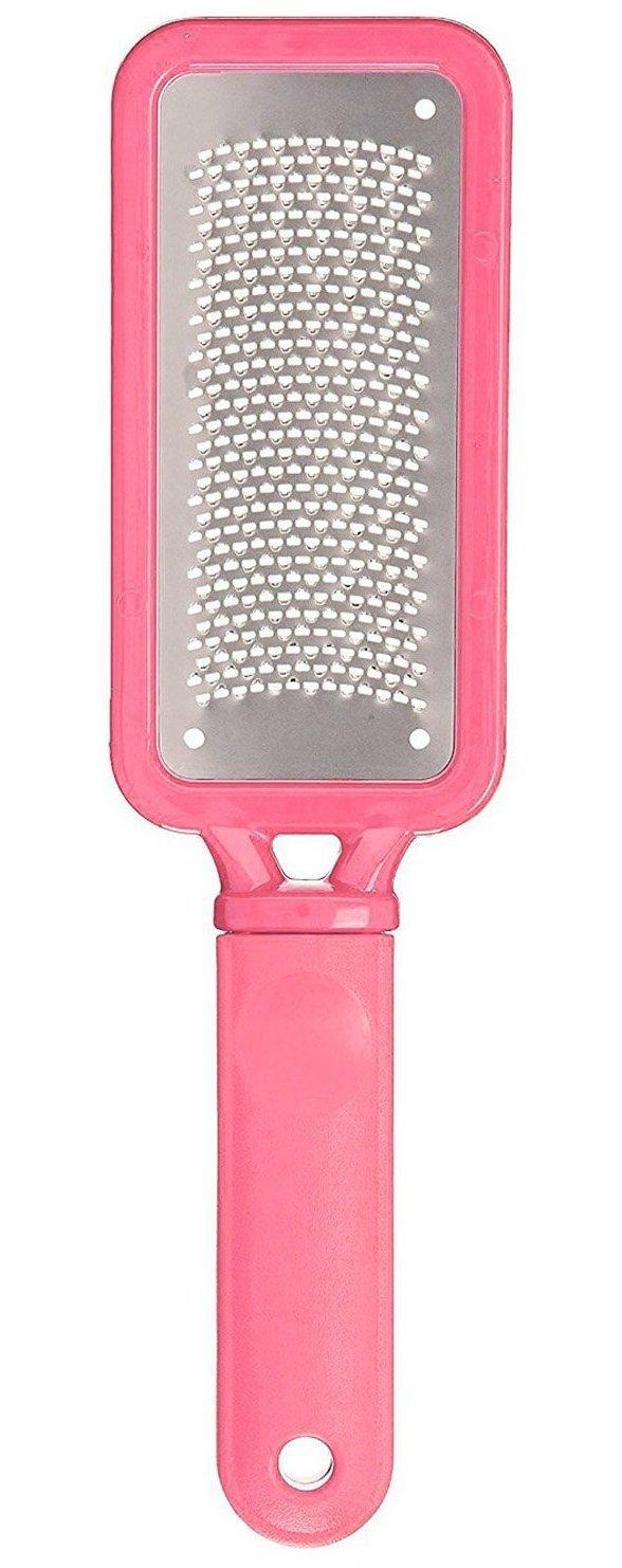 Premium Laser Hornhautraspel - Hornhautentferner mit ergonomischem rutschfestem Griff - Edelstahl Fußfeile (rostfrei) - professionelle Fußraspel für die effektive Fußpflege - Hornhautfeile für Gesunde und Schöne Füße - Feile Hornhauthobel für die Hornhaut