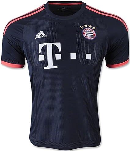31f88f76 Amazon.com : adidas FC Bayern Munich Jersey-NTNAVY : Clothing