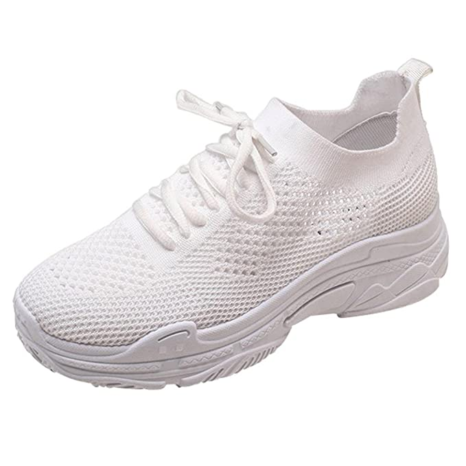 ZODOF Zapatos de Mujer de Moda Zapatos Casuales Zapatos para Caminar al Aire Libre Zapatos Deportivos de Estudiante: Amazon.es: Ropa y accesorios